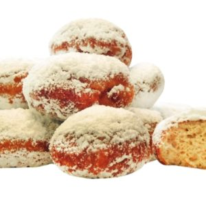 Berliner Doughnuts low carb gluten free soy free paleo keto pastry fried