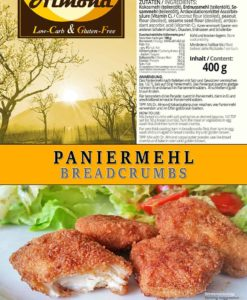 Bread Crumbs Coating low carb gluten free soy free delicous keto crumbs