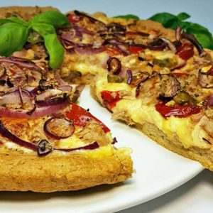 pizza dough low carb gluten free soy free paleo protein fast food crust