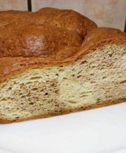 Zimt-Briochezopf lowcarb glutenfrei