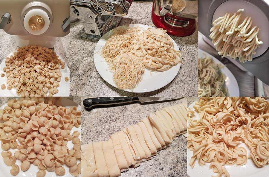 Instructions: How to make your own homemade pasta with zero carbs – utensils & pasta makers