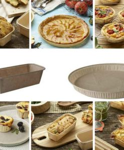 Compostable Paper Baking Molds