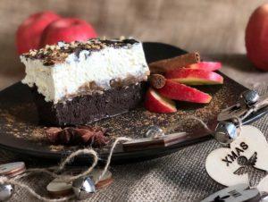 Recipe Brownie-Baked Apple Tiramisu low-carb gluten-free