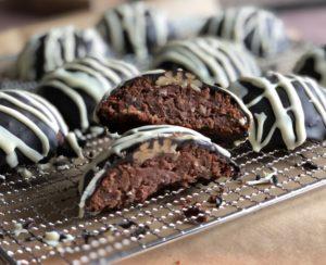 Recipe Gingerbread Fruitcake Cookies low-carb gluten-free