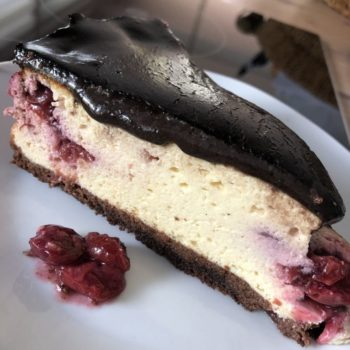 Recipe Black Forest Cheese Cake low-carb gluten-free