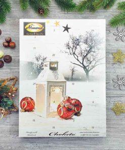 CHOKETO Advent Calendar WHITE GOURMET with low carb & keto pralinés – handmade filled chocolates truffles – sugar free