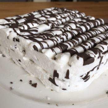 """Recipe """"Fluffietta"""" – Ice Cream from Protein Fluff Egg White Fluff low-carb keto low-cal"""