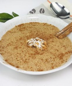 Breakfast porridge low carb glutenfree vegan WALNUT CINNAMON 400 g