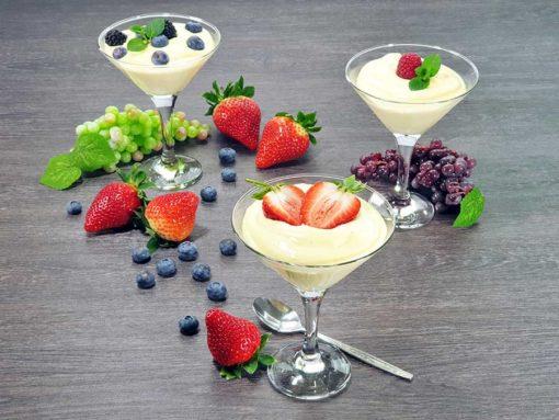 Protein dessert VANILLE-CREAM - dessert cream low carb gluten-free without added sugar