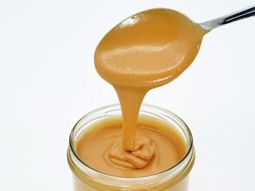 Peanut butter PREMIUM | pure peanut butter | extra-fine vegan for homemade spread & chocolate cream 400 g