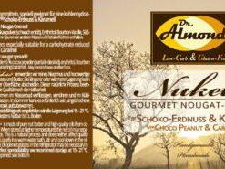 Nuketo CHOCO-PEANUT & CARAMEL Gourmet Nougat Spread low-carb keto | no added sugar | no palm oil | without hazelnuts